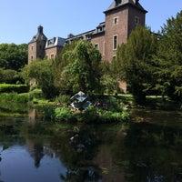 Photo taken at Schloss Neersen by Christian R. on 6/9/2014
