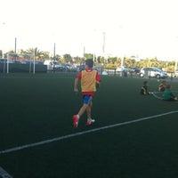 Photo taken at Escuela Fútbol L'Aljub by Ismael on 9/5/2012
