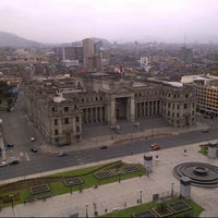 Photo taken at Palacio de Justicia de Lima by Guilherme L. on 11/18/2012