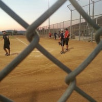 Photo taken at Mt. Miguel Park Baseball Fields by Eduardo H. on 8/7/2013
