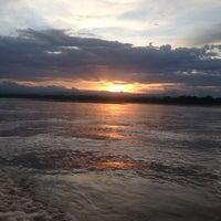 Photo taken at Puerto Boyaca by Paula M. on 8/4/2013