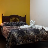 Photo taken at Hotel Familiar Los Soles by Marlene F. on 2/26/2018