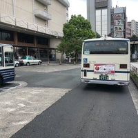 Photo taken at 神宮東門バスターミナル by 4831 A. on 4/26/2018
