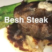 Photo taken at Besh Steak by Marcie L. on 4/30/2017