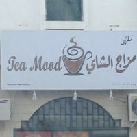 Photo taken at Tea Mood by Ahmed A. on 9/2/2013