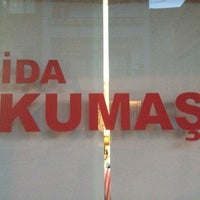 Photo taken at İDA Kumaş & Tekstil by Elvan I. on 9/3/2013