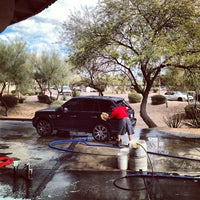 Photo taken at Danny's Family Car Wash by Paolo C. on 2/6/2013