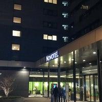 Photo taken at Novotel Amsterdam City by Bryan V. on 2/4/2013