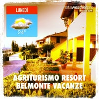 Photo taken at Agriturismo resort Belmonte Vacanze by Lauro L. on 10/28/2013