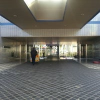 Photo taken at 燕三条地場産業振興センター メッセピア by seims on 10/10/2013