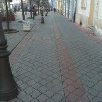 Photo taken at Magistratski trg by nidza.m on 2/4/2013