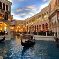 Photo taken at Venetian Palazzo by KiaW R. on 2/28/2014