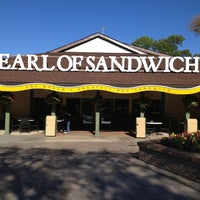 Photo taken at Earl of Sandwich by Darcie V. on 2/18/2013