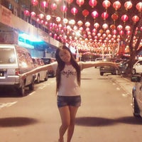 Photo taken at Gaya Street, Kota Kinabalu by Myllisa M. on 2/8/2013