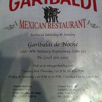 Photo taken at Garibaldi De Noche Restaurant by Candace D. on 4/7/2013