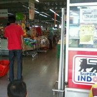Photo taken at Superindo Griya Bukit Jaya by Kemilau F. on 2/17/2013
