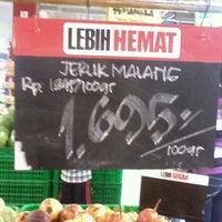 Photo taken at Superindo Griya Bukit Jaya by Kemilau F. on 5/18/2013