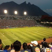 Photo taken at Estadio Tecnológico by Marsela O. on 5/2/2013