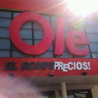 Photo taken at Supermercado Olé by Nael Ignacio R. on 2/7/2013
