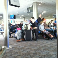 Photo taken at Gate C1 by Jessi P. on 12/27/2013