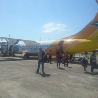 Photo taken at Godofredo P. Ramos Airport (Boracay Airport) / Caticlan Airport (MPH/RPVE) by Юлия Б. on 4/16/2013