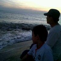 Photo taken at Pantai Boom Tuban by Lucia H. on 8/4/2013