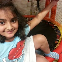 Photo taken at Bounce U by Dharmesh T. on 4/9/2013