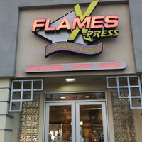 Photo taken at Flames Xpress by Mike V. on 5/18/2017
