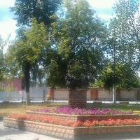Photo taken at Памятник Корзине by Шветочка С. on 7/18/2013
