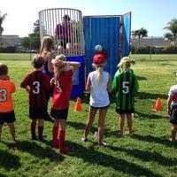 Photo taken at AYSO Soccer Fest Region 56 by Dean H. on 9/6/2014