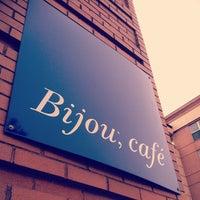 Photo taken at Bijou Cafe by Nathan G. on 4/12/2013