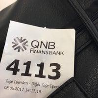 Photo taken at QNB Finansbank by Gökçen🇹🇷🇹🇷🇹🇷 Y. on 5/8/2017