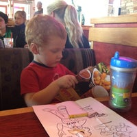 Photo taken at Red Robin Gourmet Burgers by Leap And The Net W. on 10/2/2012
