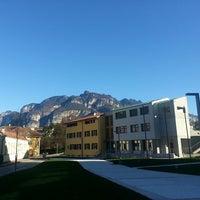 Photo taken at Fondazione Edmund Mach by Aurelia P. on 4/13/2013