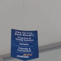 Photo taken at Bank Mandiri Juanda by Tri W. on 9/15/2014