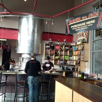 Photo taken at Ithaca Beer Co. Taproom by Melissa D. on 12/14/2012