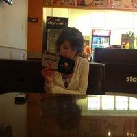 Photo taken at Starwoks cafe by Саня К. on 3/29/2013