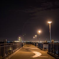 Photo taken at Louis Valentino Jr Park & Pier by Francisco S. on 7/3/2013
