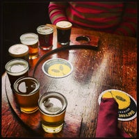 Photo taken at Harvest Moon Brewery by Francisco S. on 2/24/2013