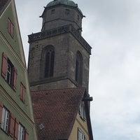 Photo taken at Münster St.Georg Dinkelsbühl by Mahmure Ü. on 8/24/2018