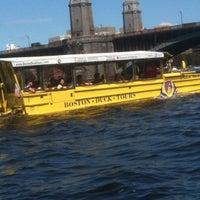 Снимок сделан в Boston Duck Tour Ramp пользователем Judy R. 8/12/2013