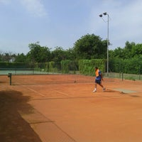 Photo taken at Tennis Club GAME by Stefan S. on 8/24/2013