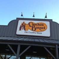 Photo taken at Cracker Barrel Old Country Store by Elder Roc R. on 3/8/2013