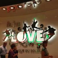 6/28/2013 tarihinde DanieLa W.ziyaretçi tarafından The Beatles LOVE (Cirque du Soleil)'de çekilen fotoğraf