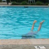 Photo taken at The Wilderness Pool by Sara H. on 6/6/2014
