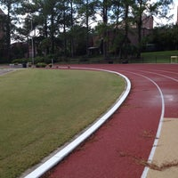 Photo taken at Mike Long Track by Sevgi Ş. on 8/31/2013
