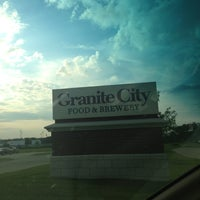 Photo taken at Granite City Food & Brewery by Patrick B. on 7/1/2013