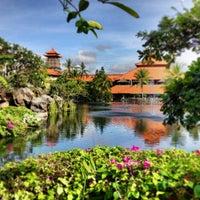 Photo taken at Ayodya Resort Bali by Mark B. on 6/8/2013