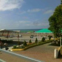 Photo taken at Sky Beach by Selamet A. on 6/14/2013