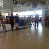 Photo taken at Carrefour by Intan K. on 4/7/2013